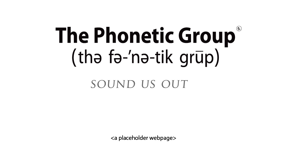 the phonetic group